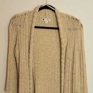 Valerie Bertinelli champagne sparkle sweater